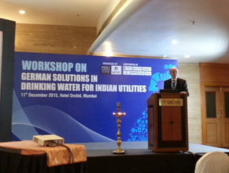 Photo: Workshop - German solutions in drinking water for indian utilities