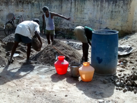 Photo: Installation of Water Meters in Tiruvannamalai Municipality